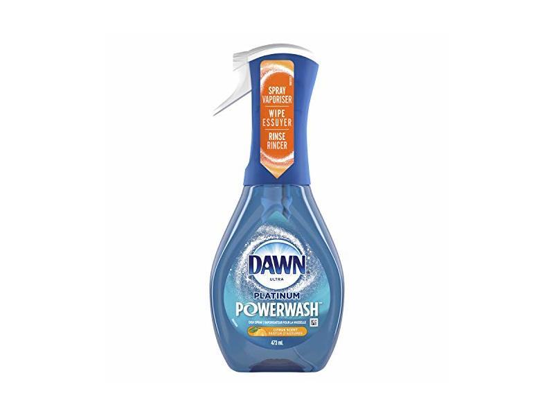 Dawn Ultra Platinum Powerwash Dish Spray, Citrus Scent, 16 fl oz