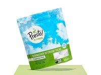 Presto! 78% Biobased Dishwasher Detergent Packs, 90 count, Fragrance Free (2 pack, 45 ct each) - Image 3