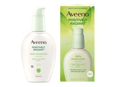 Aveeno Positively Radiant Skin Daily Moisturizer SPF 15, 4 Ounce