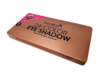 Nabi Cosmetics 24-Color Eye Shadow, 24 x 1.5 g - Image 3