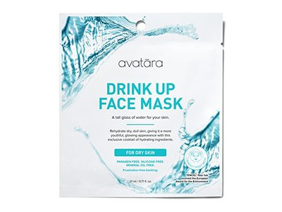 Avatara Drink Up Face Mask for Dry Skin, 0.71 Fluid Ounce