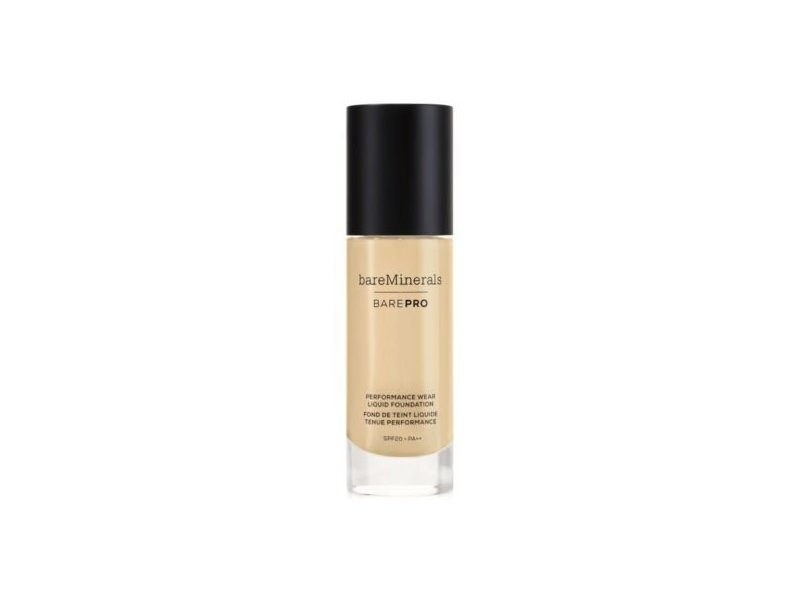 bareMinerals BarePro Performance Wear Liquid Foundation, Golden Nude 13, 30 mL/1.0 fl oz