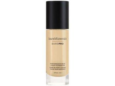 bareMinerals BarePro Performance Wear Liquid Foundation, Golden Nude 13, 30 mL/1.0 fl oz
