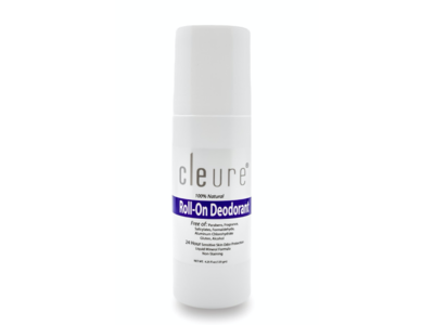 Cleure Roll-On Deodorant, 3 oz