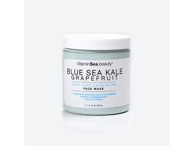 Blue Sea Kale Grapefruit Deep Pore Exfoliating Face Mask 7.1 Fl Oz