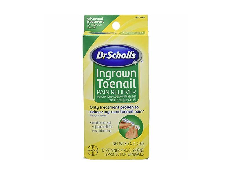 Dr. Scholl's Ingrown Toenail Pain Reliever, 8.5 Grams each