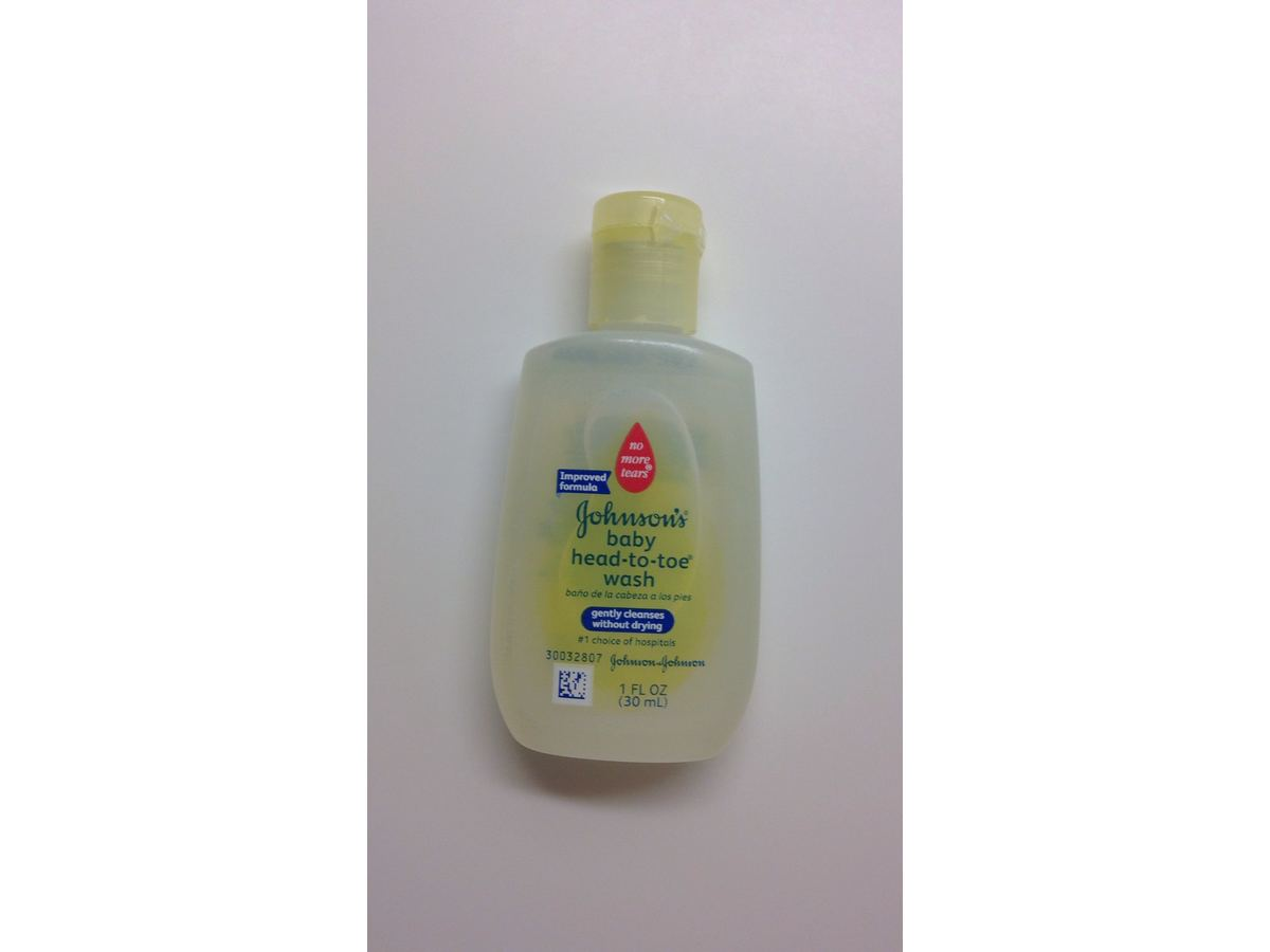 Johnson S Baby Head To Toe Wash 1 Fl Oz Ingredients And