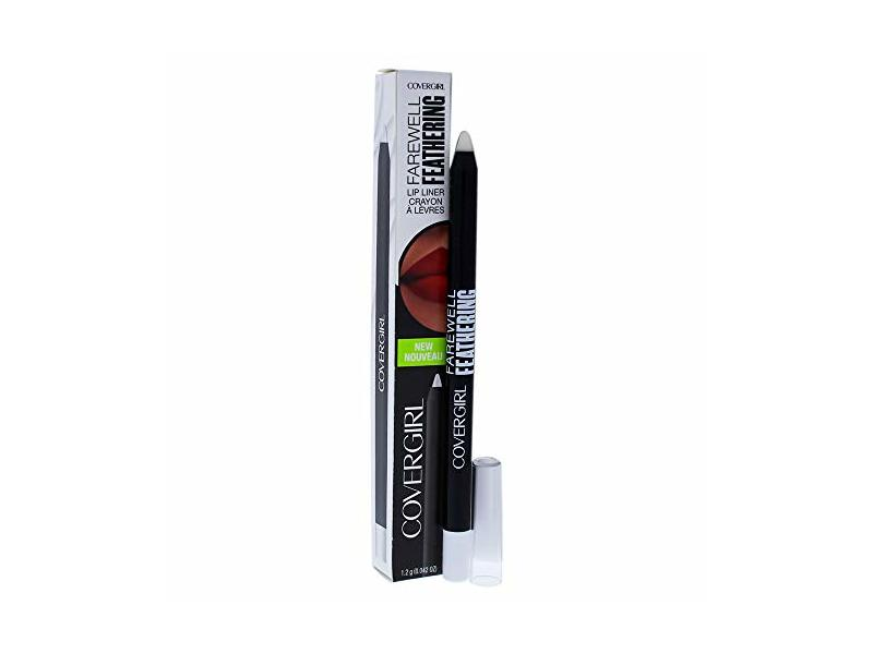CoverGirl Farewell Feathering Lip Liner, Clear, 0.04 Ounce