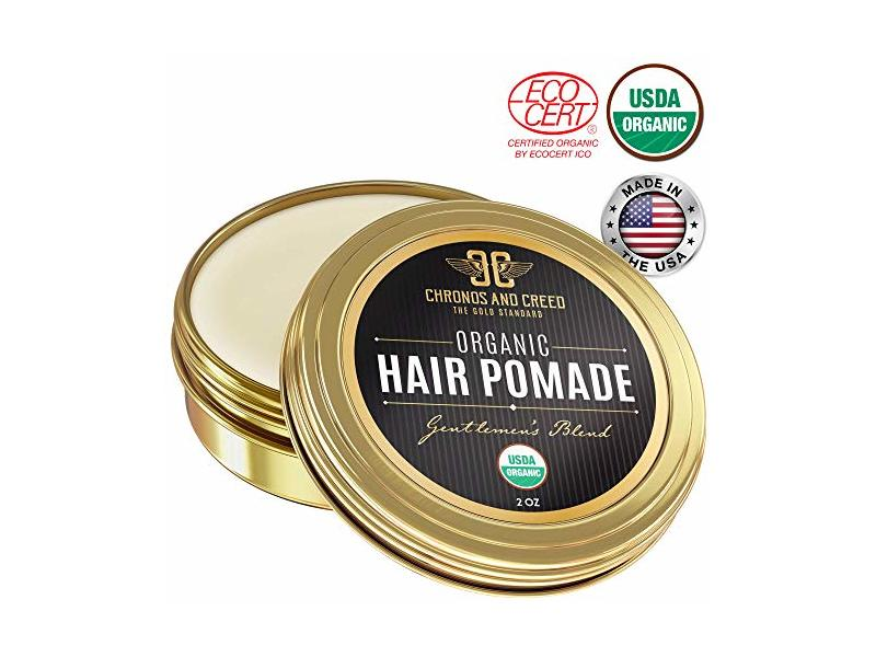 Chronos And Creed Organic Hair Pomade, 2 oz
