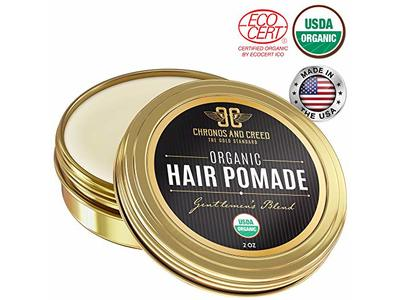 Chronos And Creed Organic Hair Pomade, 2 oz