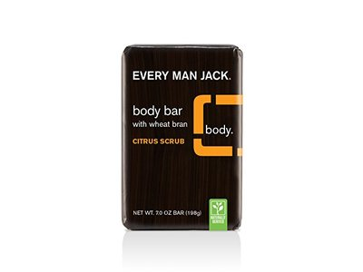 Every Man Jack Body Bar, Citrus Scrub, 7 Ounce