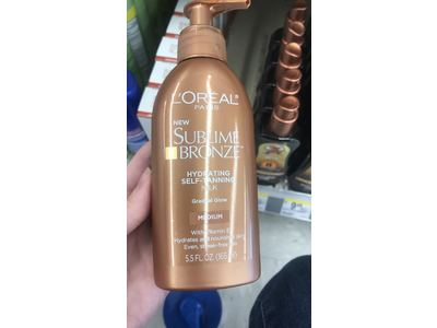 L'Oreal Paris Skin Care Sublime Bronze Hydrating Self-Tanning Milk, 5.5 ounce - Image 3