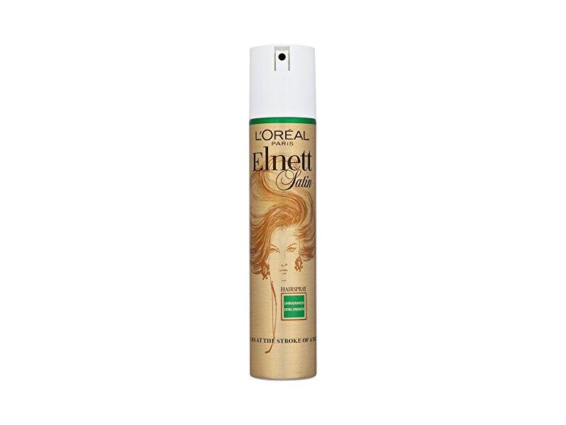 L'Oréal Elnett Satin Extra Strong Hold Hairspray, 200 mL