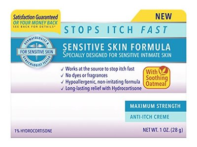 Vagisil Maximum Strength Anti-Itch Creme, Sensitive Skin Formula, 1 Ounce - Image 7