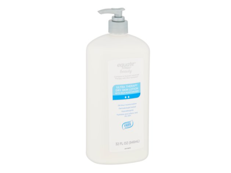 Equate Beauty Ultra Therapy Dry Skin Lotion with Rich Moisturizers, 32 fl oz