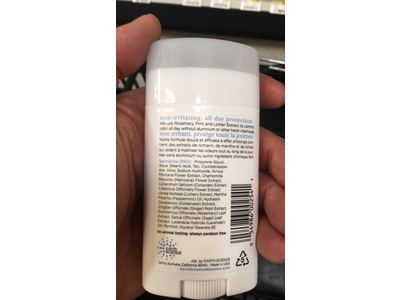 Earth Science All-Natural Deodorant, Rosemary & Mint, 2.45 oz - Image 4