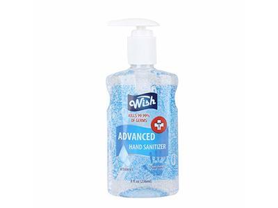 Wish Wish Hand Sanitizer, Regular Vitamin E, 8 oz