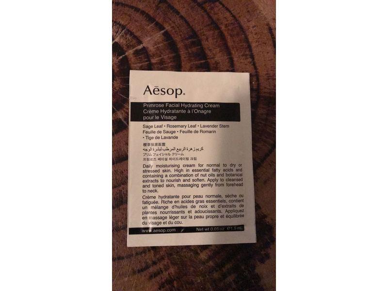 Aesop Primrose Facial Hydrating Cream, Sample Size