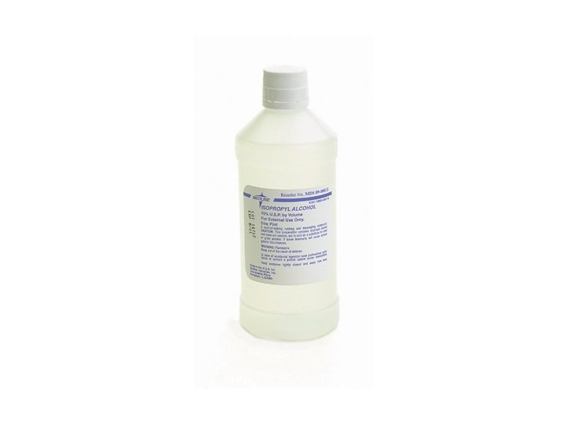 Medline Alcohol, Rubbing, Isopropyl-70%, Pint
