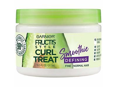 Garnier Fructis Style Curl Treat Defining Smoothie, 10.5 Ounce Jar