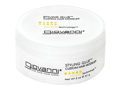 Giovanni Eco Chic Styling Glue- Custom Hair Modeler (2 Ounce Jar)