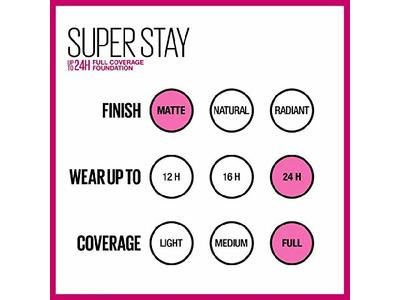 Maybelline New York Super Stay Full Coverage Liquid Foundation Makeup, Espresso, 1 Fluid Ounce - Image 8