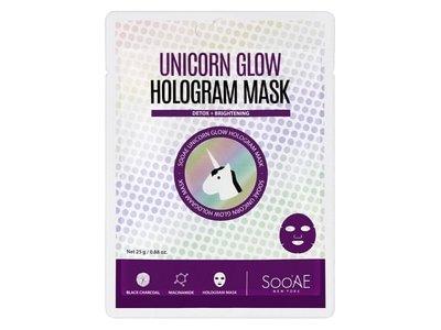 SooAE Unicorn Glow Detox & Brightening Hologram Mask