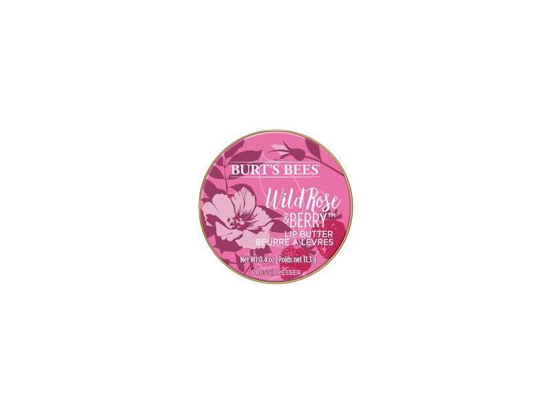 Burt's Bees 100% Natural Lip Butter, Wild Rose & Berry