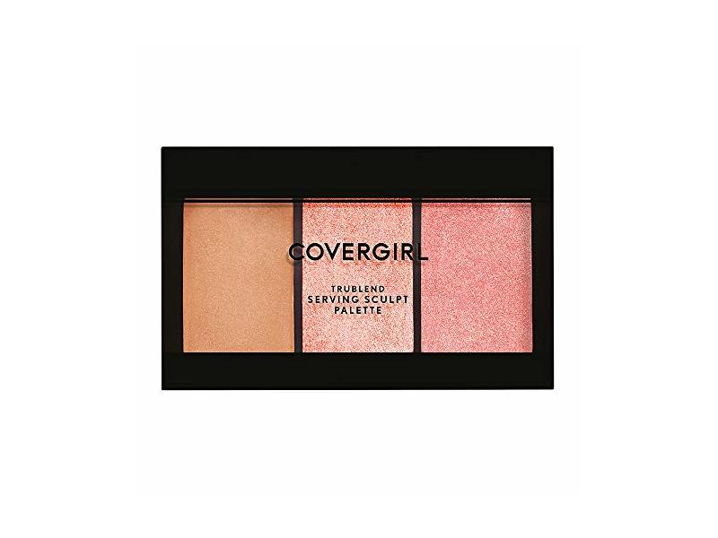 Covergirl Serving Sculpt Contour Palette, Bloom Babe 500, 0.22 Ounce