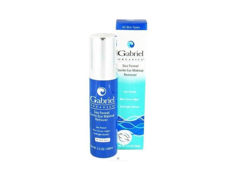 Gabriel Organics Sea Fennel Gentle Eye Makeup Remover, 3.3 fl oz