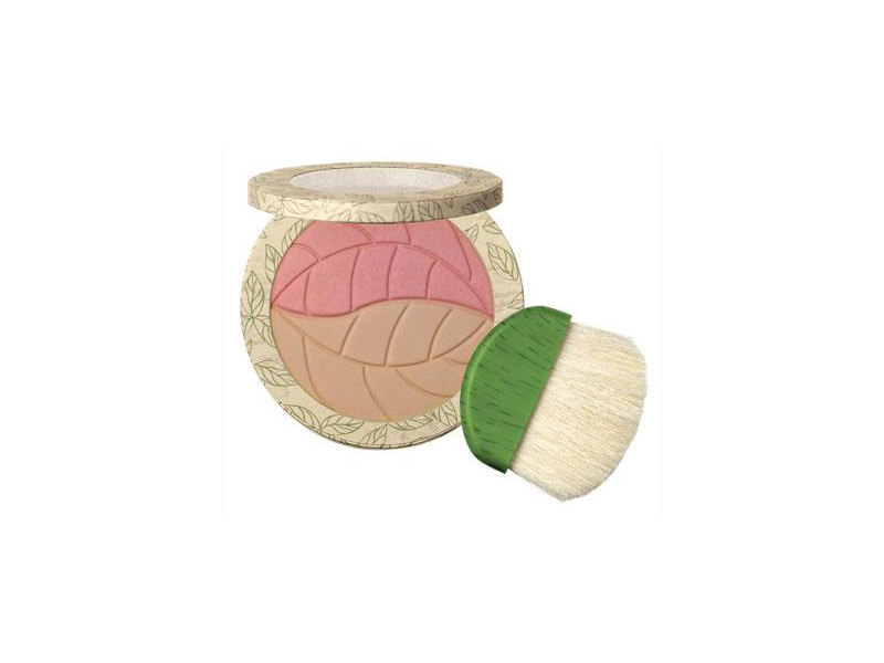 Physicians Formula Gentle Wear 100% Natural Origin 2-in-1 Bronzer & Blush, Light Bronzer-Pink Rose
