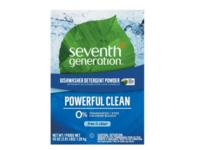 Seventh Generation Dishwasher Detergent Powder, Free & Clear, 45 oz/1.28 kg - Image 2