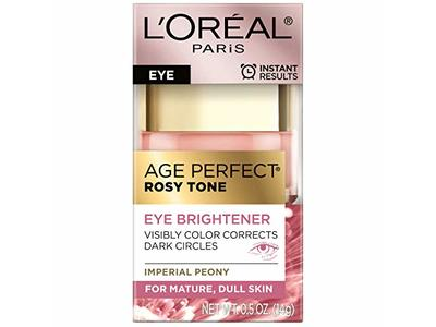 L'oreal Paris Skin Care Age Perfect Rosy Tone Eye Brightener Cream, 0.5 Ounce - Image 5
