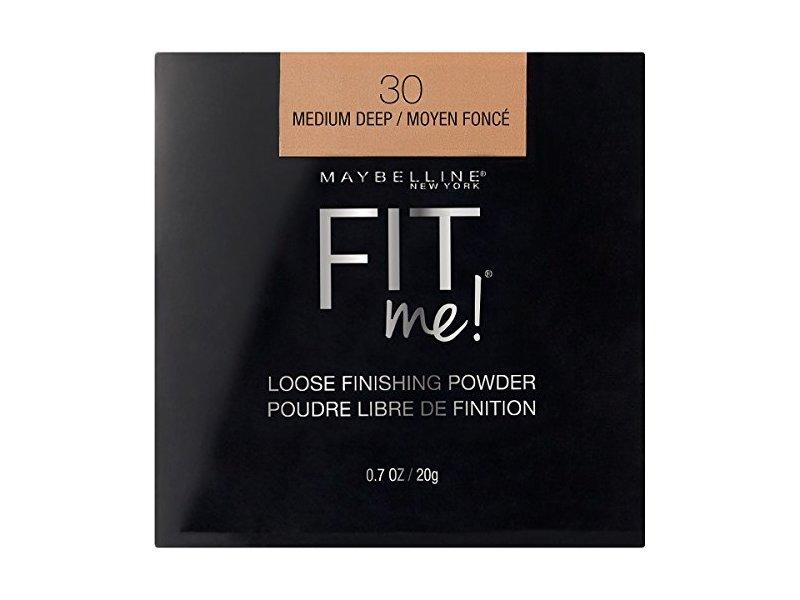 Maybelline New York Fit Me Loose Finishing Powder, Medium Deep 30, 0.7 oz