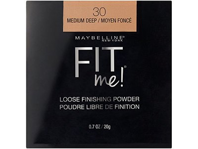 Maybelline New York Fit Me Loose Finishing Powder, Medium Deep 30, 0.7 oz