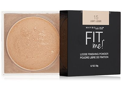 Maybelline Fit Me Loose Finishing Powder, Light, 0.7 oz.