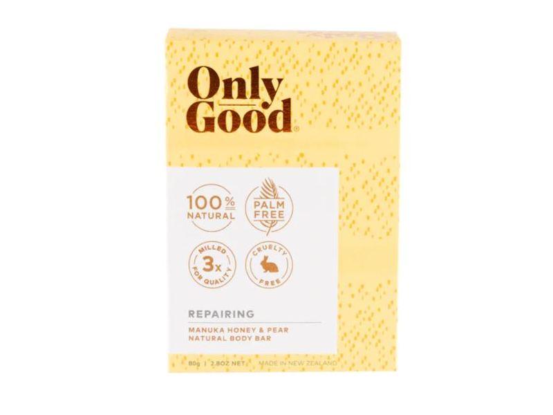 Only Good Repairing Manuka Honey & Pear Natural Body Bar, 2.8 oz