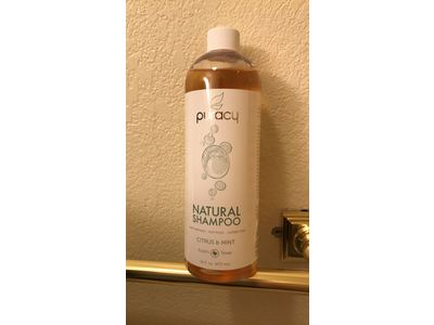 Puracy Natural Daily Sulfate-Free Hair Shampoo, Citrus & Mint, 16 Fluid Ounce - Image 3