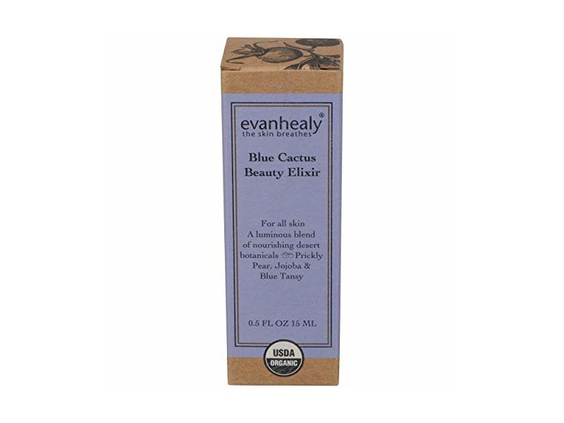 evanhealy Blue Cactus Beauty Elixir, 0.5 Ounce