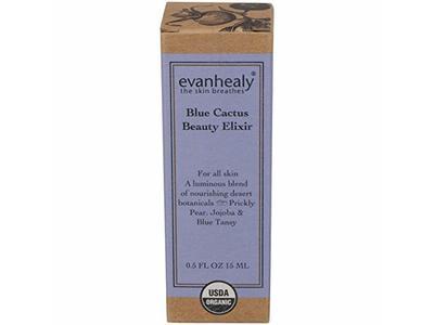 evanhealy Blue Cactus Beauty Elixir, 0.5 Ounce