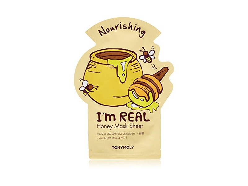 TONYMOLY I'm Real Honey Nourishing Mask Sheet, Pack of 1