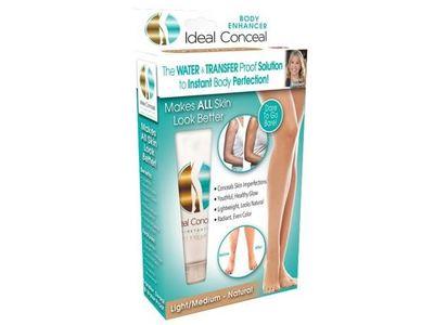 Ideal Conceal Body Enhancer, Light/Medium Natural, 2.5 fl oz