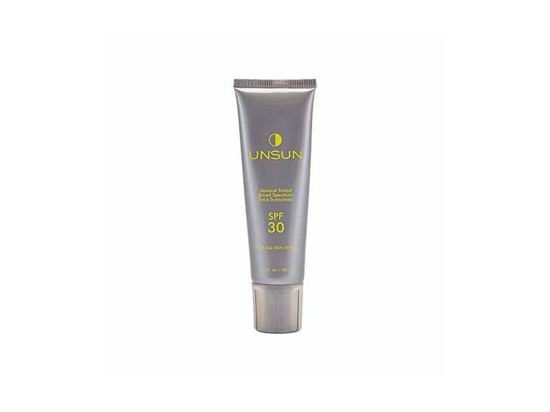 Unsun Cosmetics Mineral Tinted Face Sunscreen, Light/Medium, 1.7 fl oz