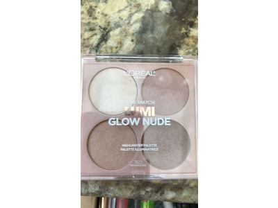 L'Oreal True Match Lumi Glow Nude Highlighter Palette, #760 Moonkissed, 0.26 oz - Image 4