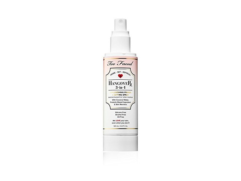 Too Faced HangoverX 3-in-1 Replenishing Primer and Setting Spray, 4 fl oz
