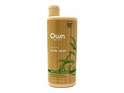 Own Beauty Body Wash Detoxing Green Tea & Cucumber, 15 Ounce