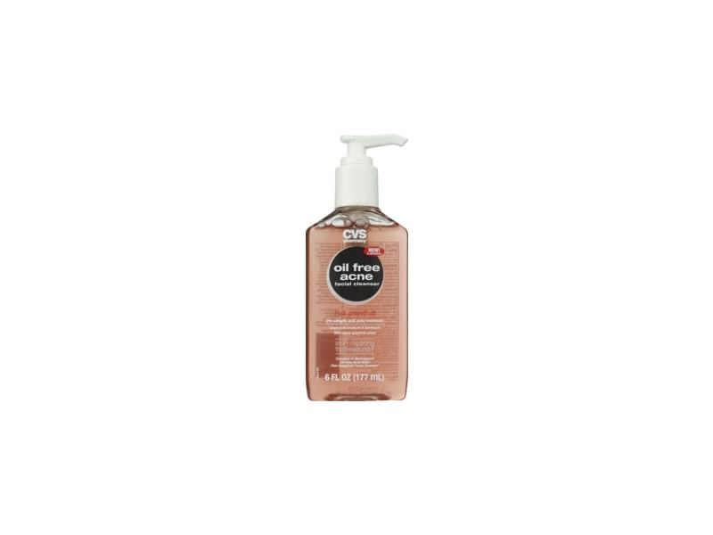 CVS Health Oil-Free Acne Facial Cleanser, Pink Grapefruit