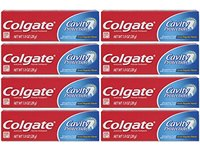 Colgate Cavity Protection Fluoride Toothpaste, Great Regular Flavor, Travel Size 1 Ounce - Image 2