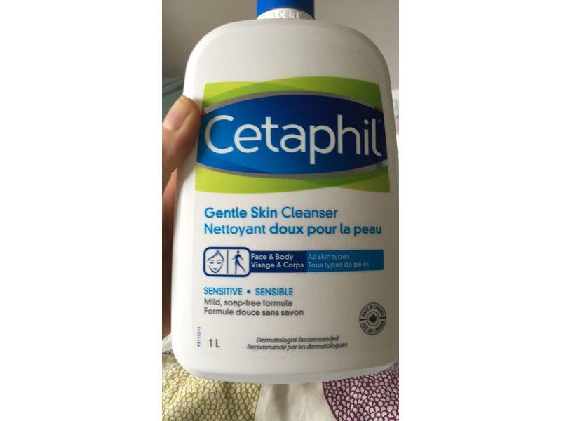 Cetaphil Gentle Skin Cleanser 1 Liter Ingredients And Reviews