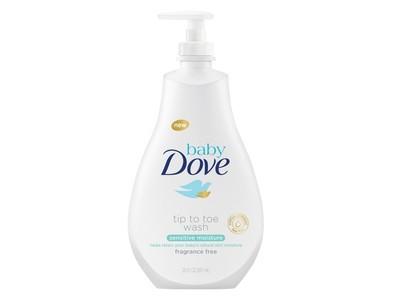 Baby Dove Head to Toe Wash, Sensitive Moisture, 6.76 Ounce